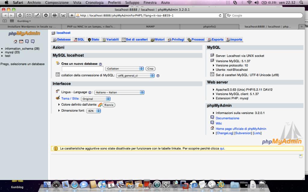 CyberAngel's Blog » Installare WordPress in locale su Mac